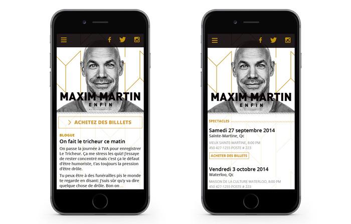 Maxim Martin - Mobile
