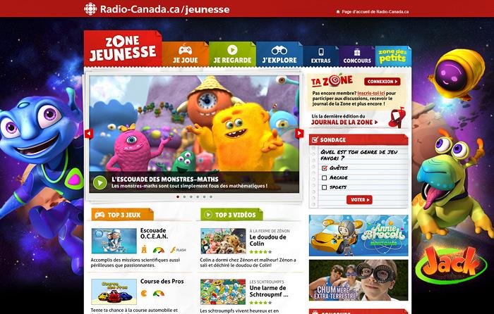 Zone jeunesse de Radio-Canada